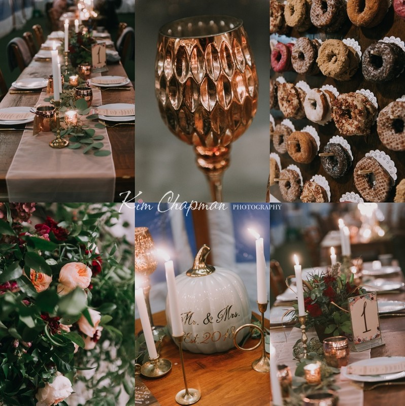 Details at Maine Winter Wedding
