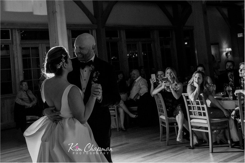 First Dance at the Red Barn in South Berwick, Maine