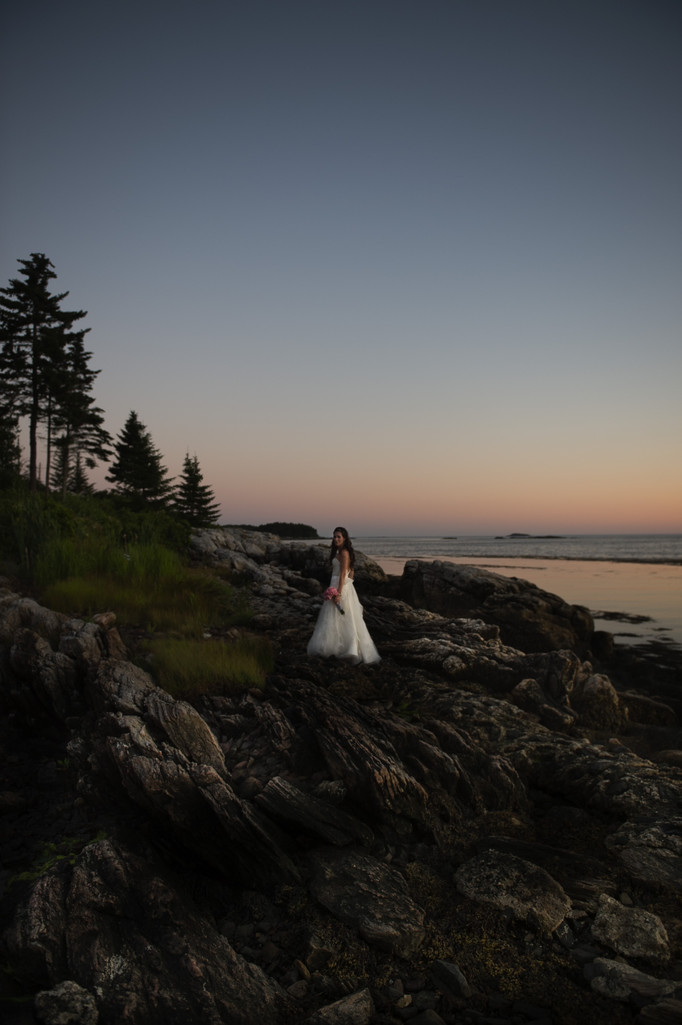 Sebasco Harbor Resort wedding photographer Kim Chapman