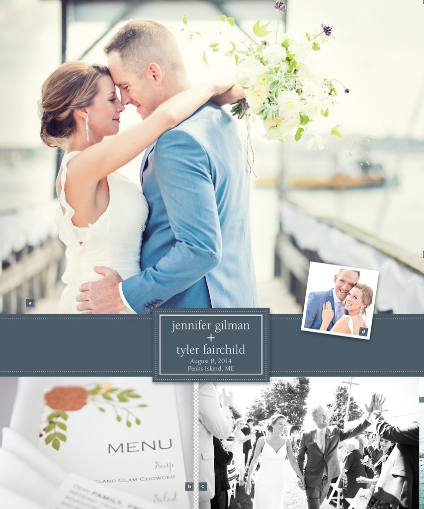 Feature Story in Seacoast Weddings Magazine