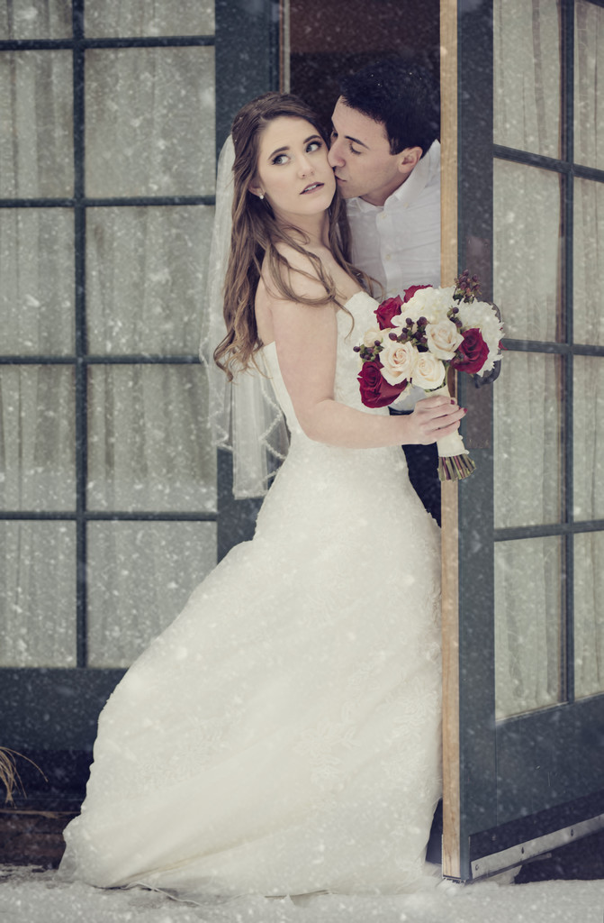 Red Barn Winter Wedding