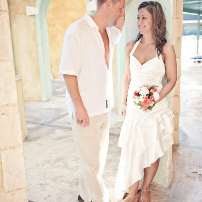 Bride and Groom - Montego Bay, Jamaica