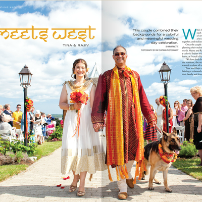 East Meets West - Indian Weddings in Maine