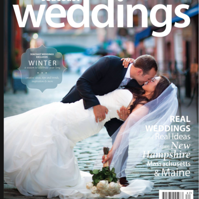 Cover of Seacoast weddings Magazine July 2016