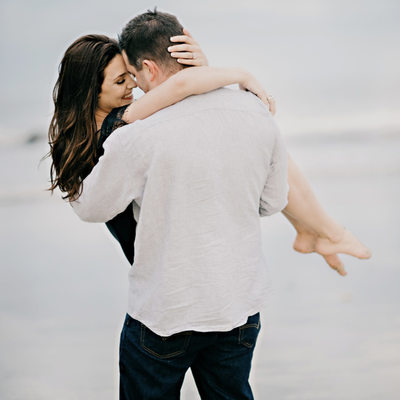 Engagement shoot by maine wedding photographer Kim Chapman