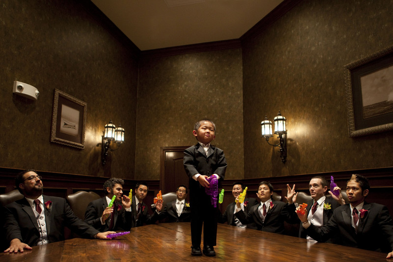 Memorable Fun Wedding Moment Ring Bearer