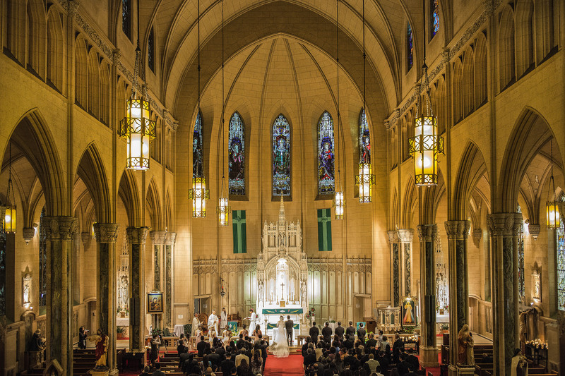 St Patrick's Church San Francisco Wedding Ceremony