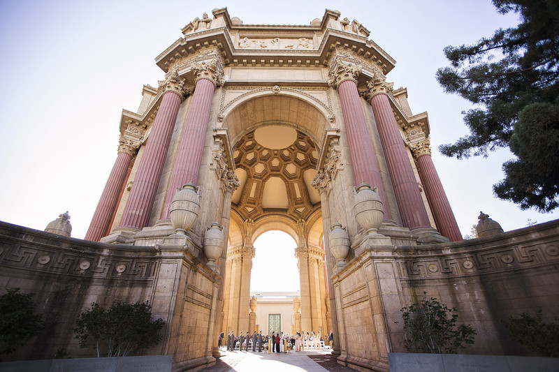Palace of Fine Arts Wedding Ceremony