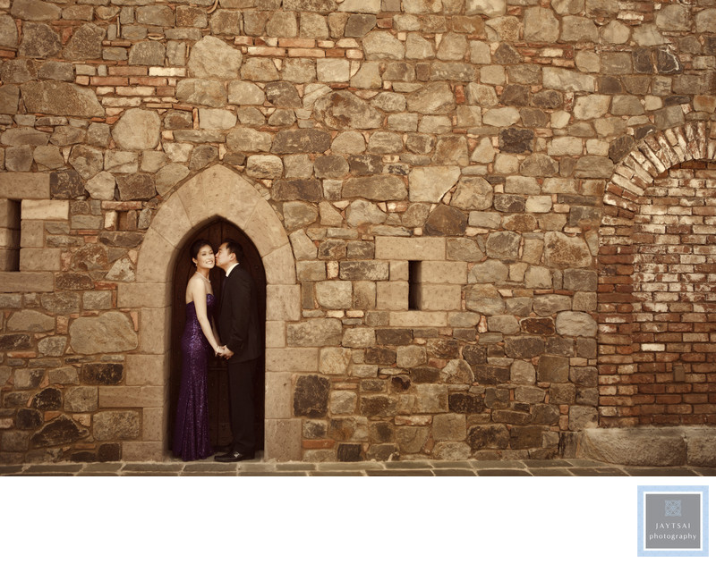 Castello di Amorosa Engagement Napa Photographer Winery