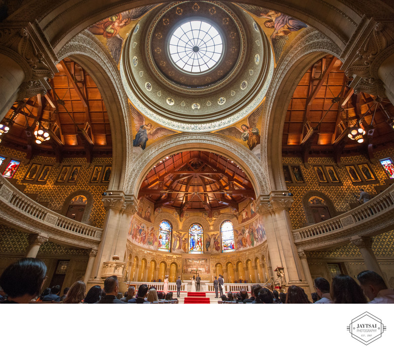Stanford Memorial Church Wedding Ceremony