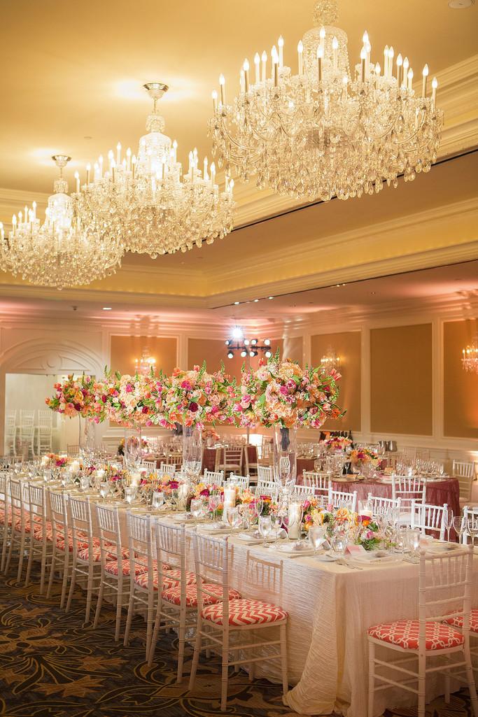 Omni Hotel San Francisco Wedding Reception Ballroom