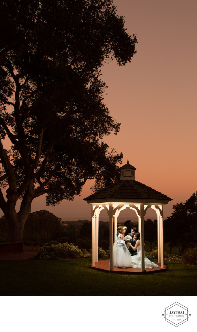 Wedding at Hollins House Pasatiempo Golf Club
