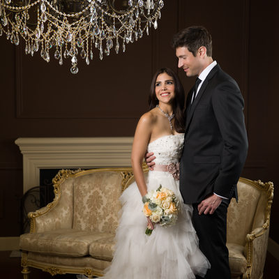 couture wedding couple portraits