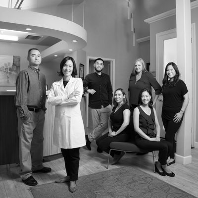 Dental Office Professional Group Photo