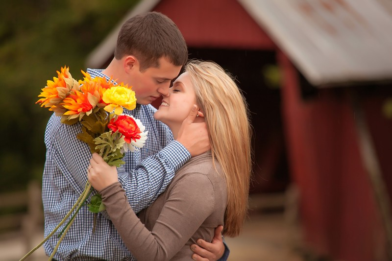 Gorgeous fall picnic themed engagement Campbell's Covered
