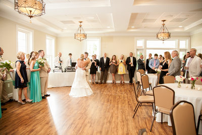 Wedding reception dancing image South and West, Easley, SC