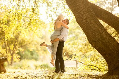 Beautiful engagement session image Furman University