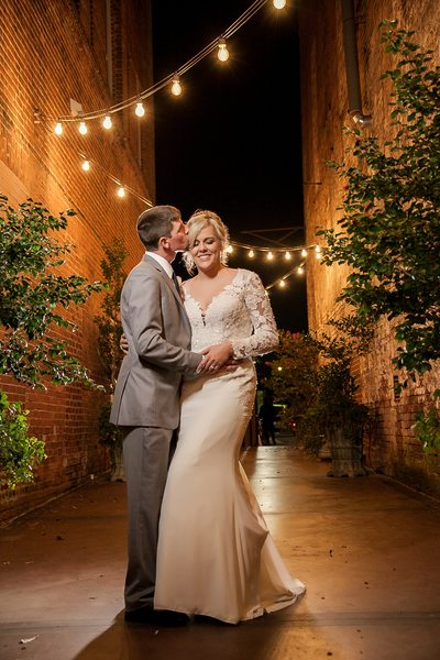 Bride and Groom photo at The Bleckley Inn, Anderson, SC