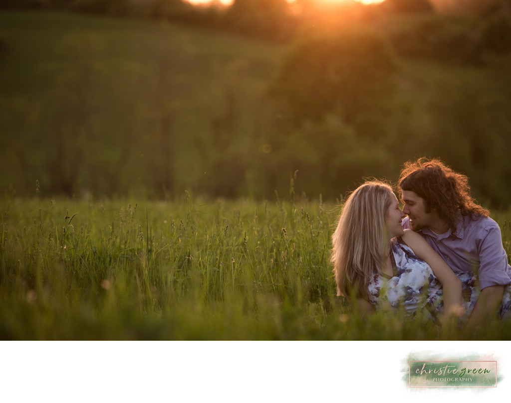 Ridley Creek State Park Engagement Photos