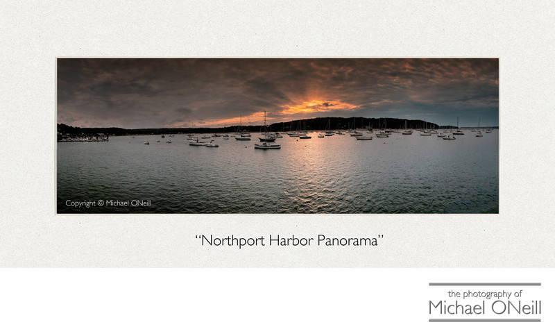 Collectible Fine Art Photography Northport NY Panorama