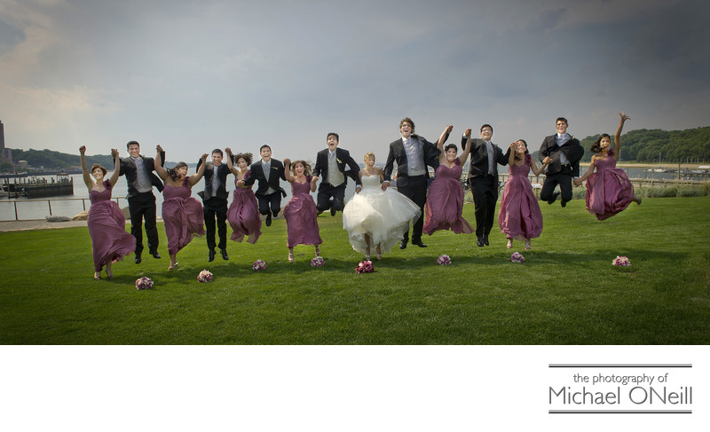 Fun Bridal Party Photographs Long Island