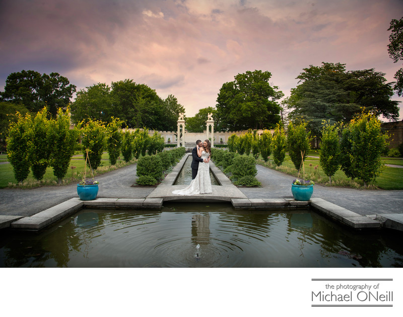 NYC Wedding Pictures Untermyer Gardens Yonkers