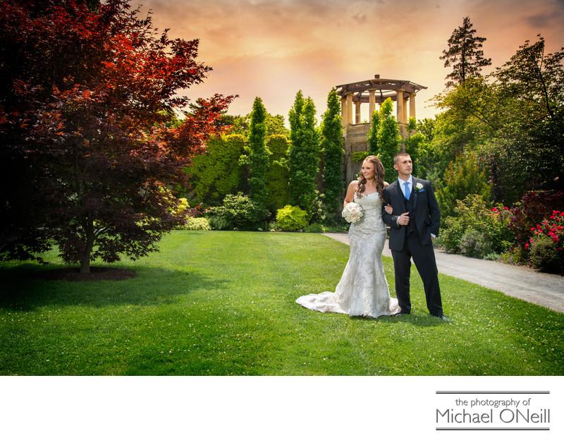 Long Island Nyc Park Garden Wedding Pictures