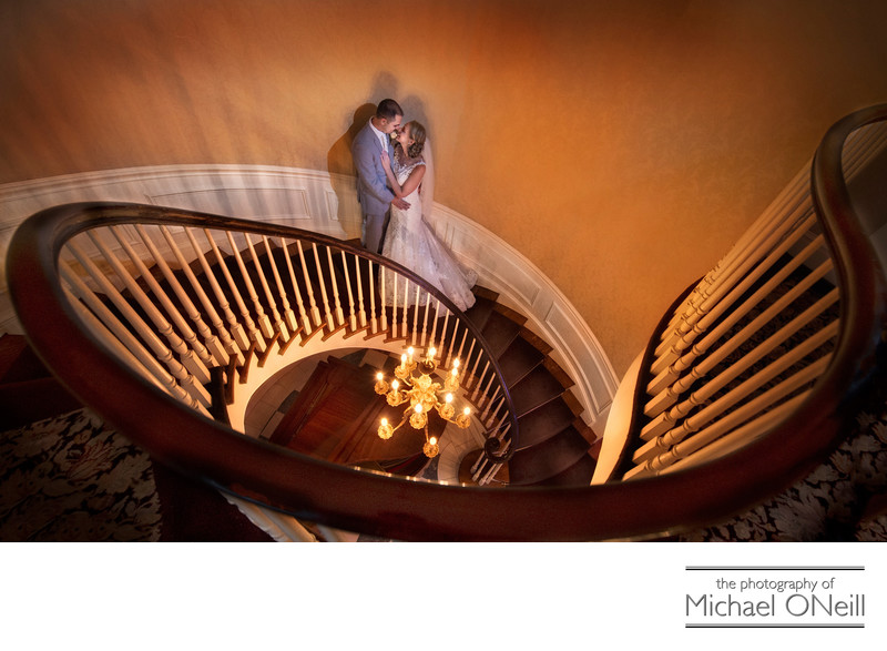 Royalton Mansion Circular Staircase Pictures