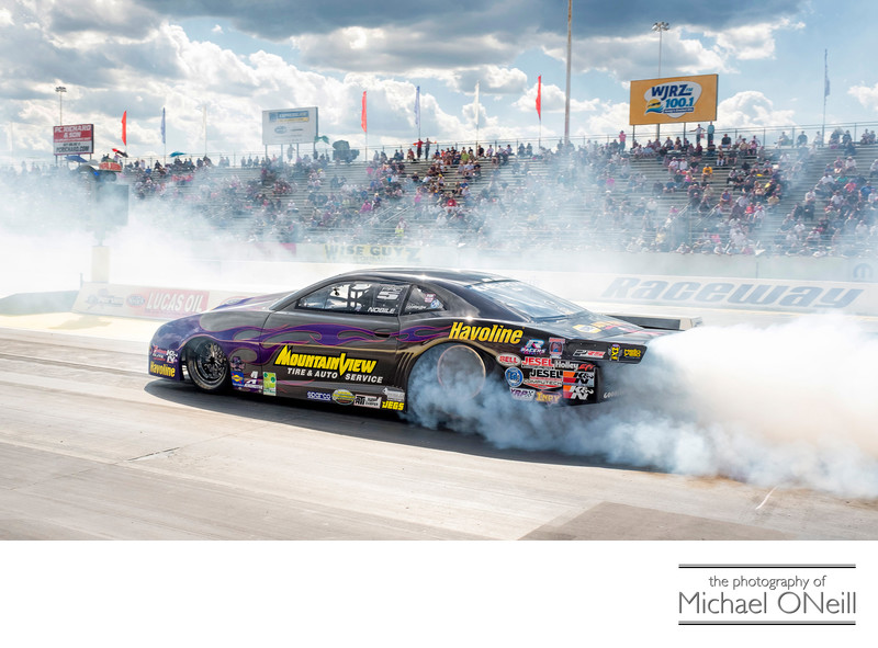 Best Burnout Ever NHRA Motorsports Racing Photographer