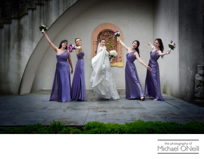 Fun Bridesmaids Wedding Pictures Long Island