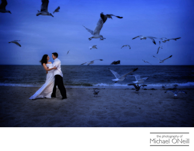Hamptons Montauk East End Beach Wedding Photography
