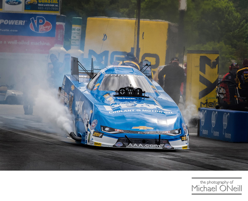 Sports Car Motorcycle Drag Racing Stock Photographer