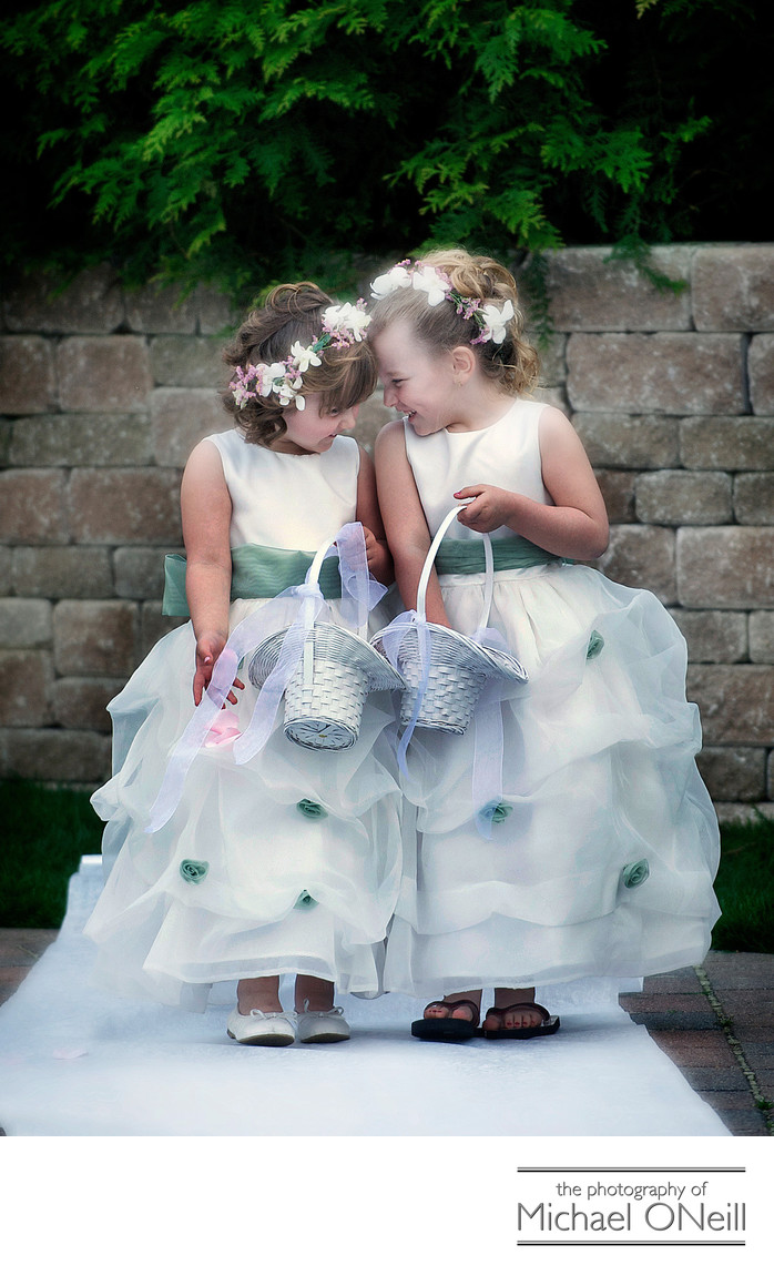Cute Flower Girl Pictures Long Island NYC
