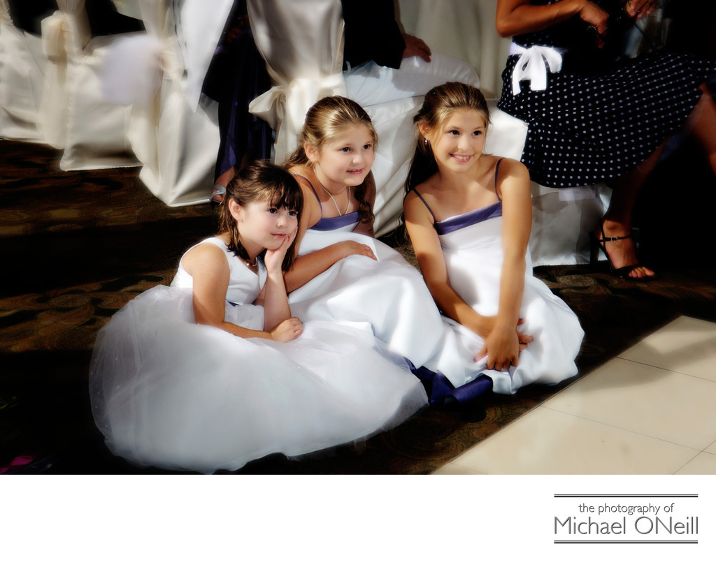 Flower Girl Wedding Pictures Long Island