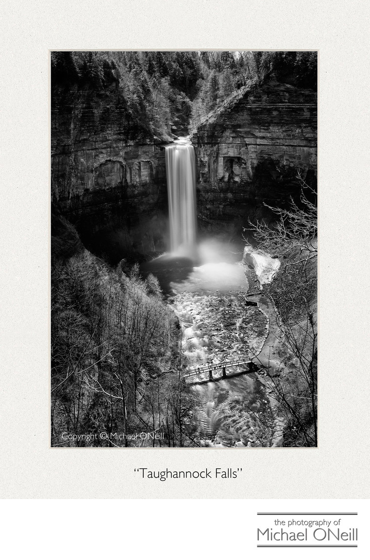 Taughannock Falls Collectible Fine Art Photography Edition