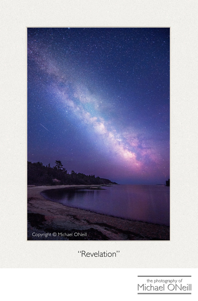 Milky Way Collectible Fine Art Photograph Acadia