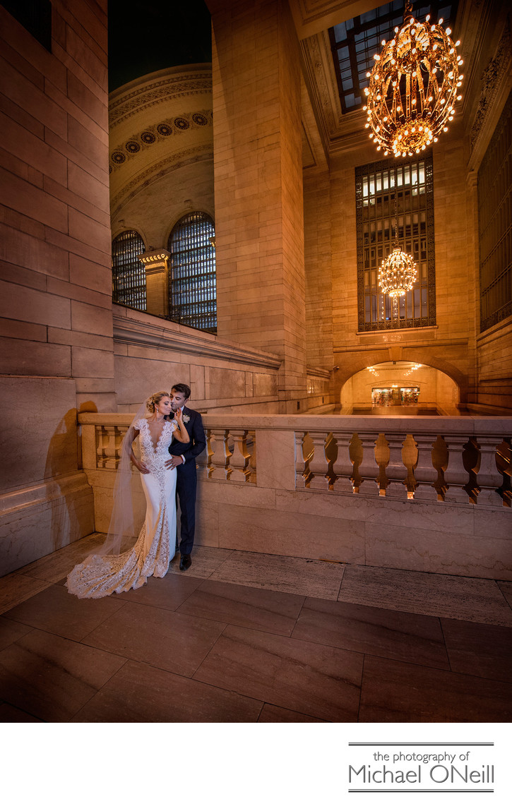 Grand Central Station NYC Wedding Pictures