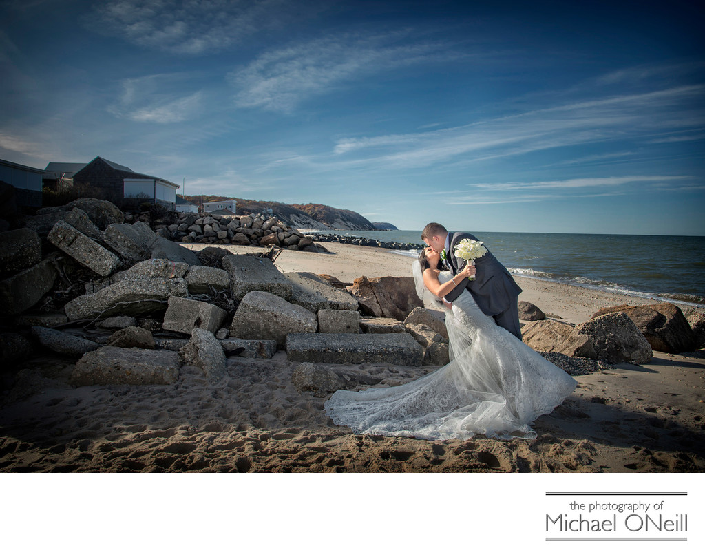 Beach Wedding Pictures Long Island, NY North Fork