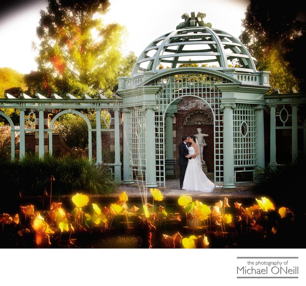 Old Westbury Gardens Sundial: Old Westbury Gardens Wedding Photos