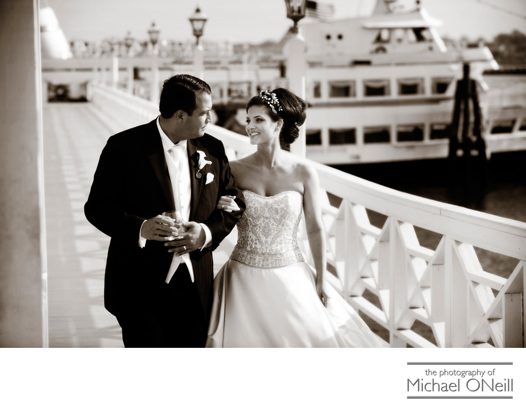 Marina Del Rey Bronx NYC Wedding Pictures