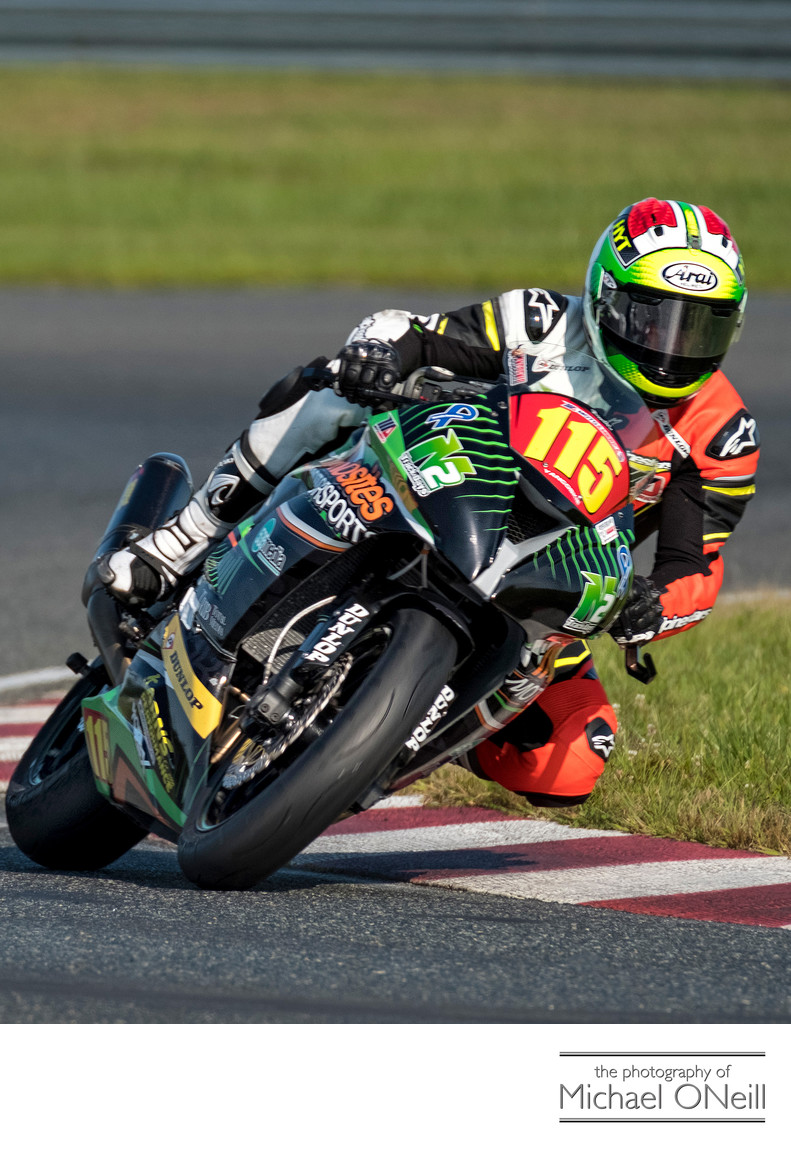Gary Yancoskie MotoAmerica Supersport NJMP Photographs
