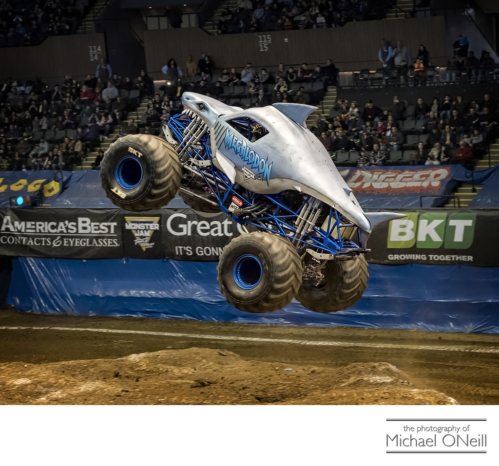 Sports Car Auto Monster Truck Racing Event Photographs