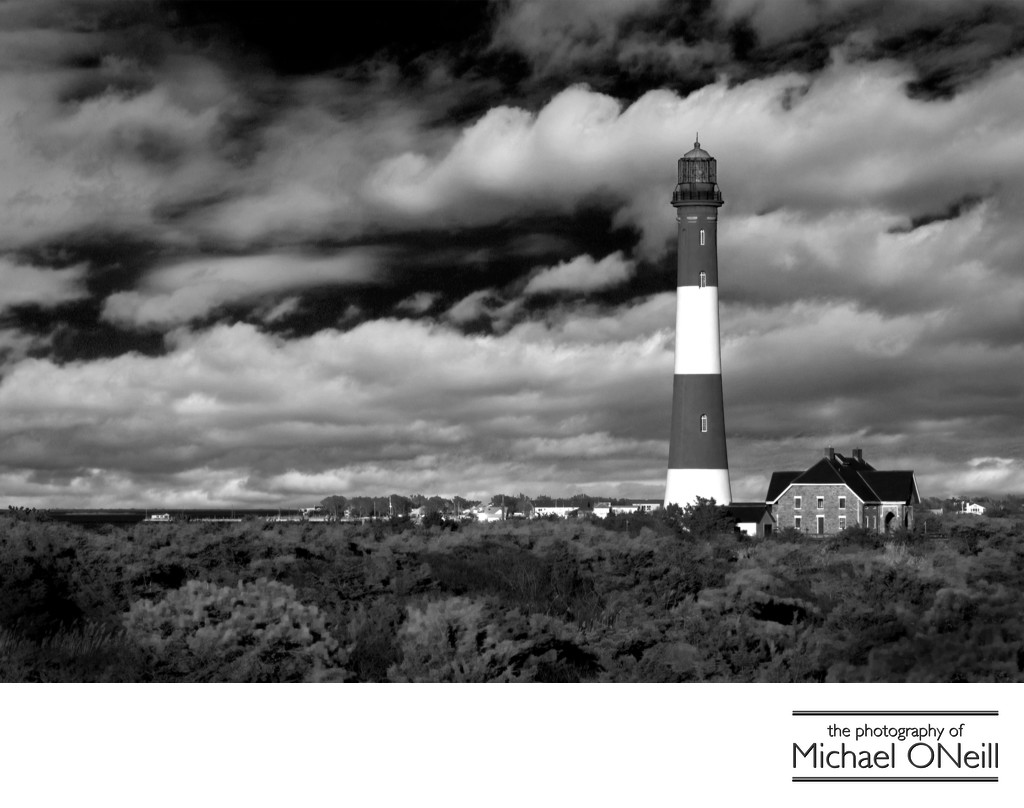 Collectible Fine Art Photography Fire Island NY Lighthouse