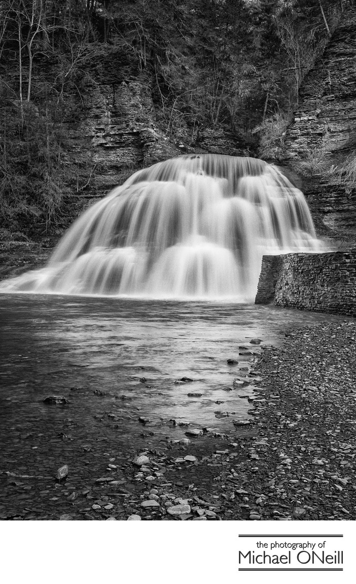 Finger Lakes NY Waterfall Motorcycle Trip Photos