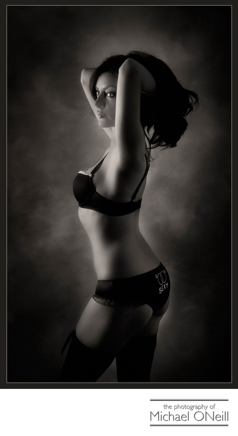 Best Studio Boudoir Portrait Photographer Long Island NY