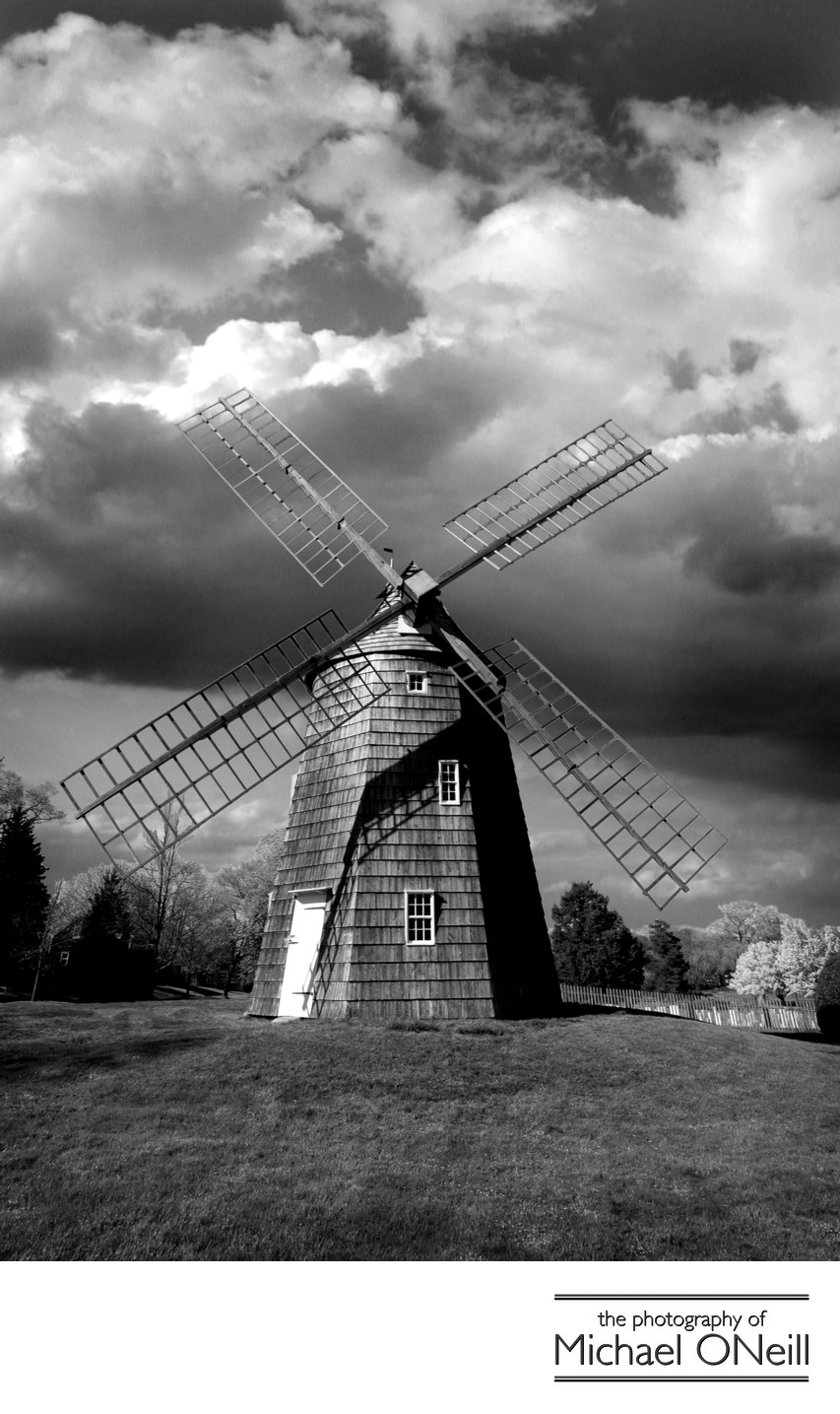 Collectible Fine Art Photography East Hampton NY Windmill