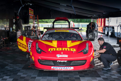 Momo Ferrari Behind The Scenes Motorsports Photos PWC