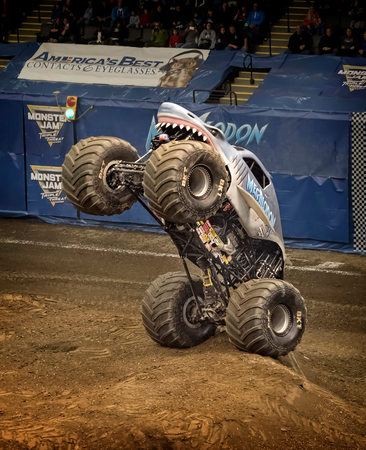 Megalodon Monster Energy Truck Photographer US