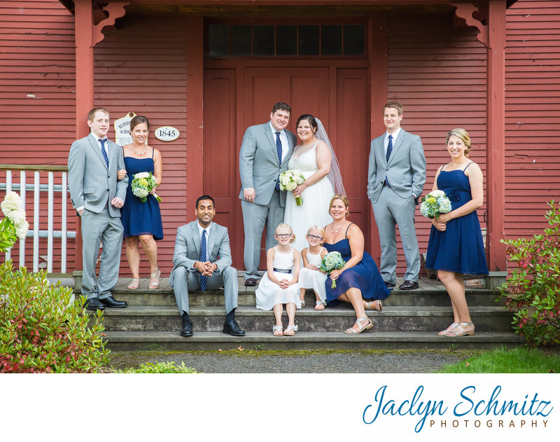 Green Mountain Inn Stowe Vermont Wedding