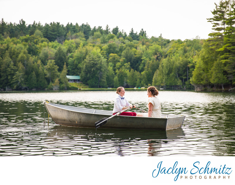 lake wedding Northeast Kingdom VT